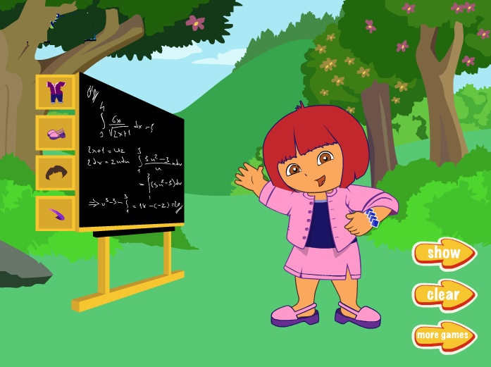 Teacher Dora - Dress up Games - Dressup24h.com