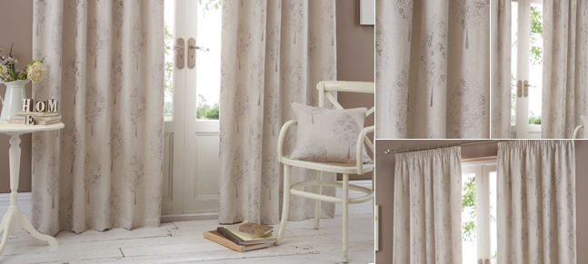£69.99 Buy Taupe Mulberry Curtain Collection Online | Dunelm Mill