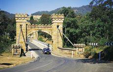 Kangeroo Valley's historic Hampden Bridge