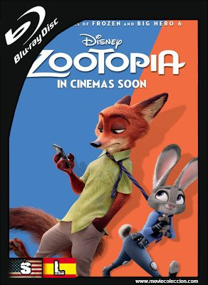 Zootopia 2016 1080p HD | Dual Audio ~ Movie Coleccion