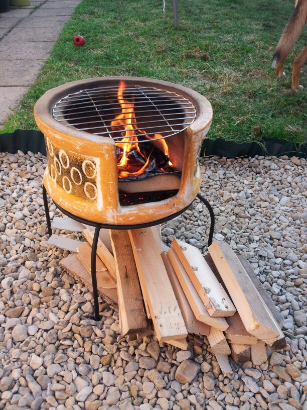 32 best images about FIRE - OUTDOOR - CHIMINEA on Pinterest