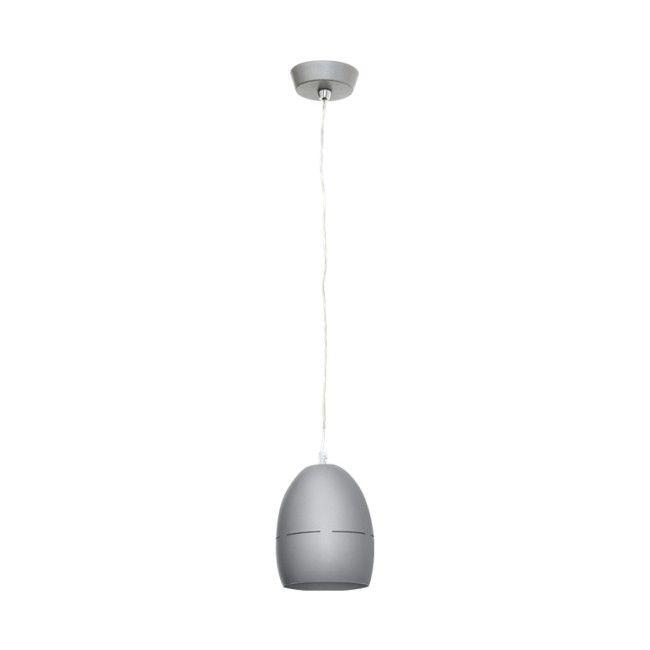 Lampa wisząca Colours Egg 1 x 42 W E27 srebrna