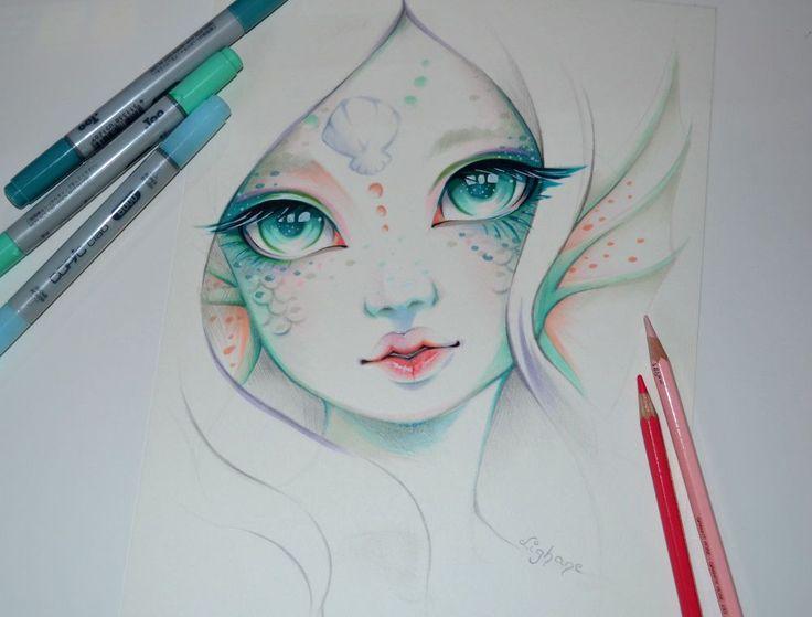 Marina the Mermaid by Lighane on DeviantArt