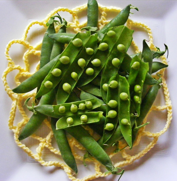 Just picked the first crop of home grown, pesticide and pest-free peas. Looking good and tasting even better!