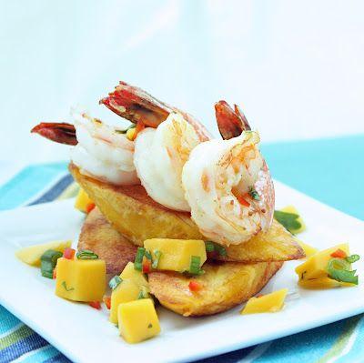 ... Seafood Dishes, Mango Seafood, Food Whole30 Paleo, Seafood Shrimp
