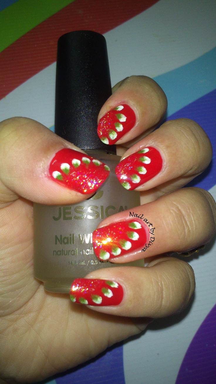 My Red Nails