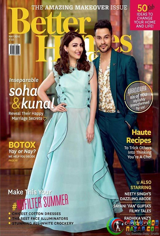SOHA ALI KHAN AND KUNAL KEHMU REVEAL SECRET OF HAPPY MARRIAGE  #SohaAliKhan #KunalKehmu #BollywoodNazar