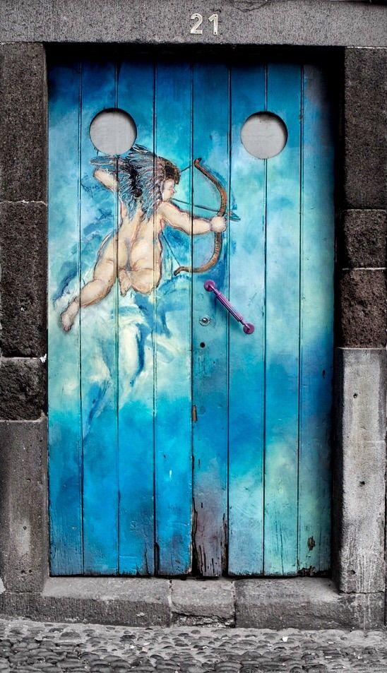 Door | ドア | Porte | Porta | Puerta | дверь | Sertã | Funchal, Madeira, Portugal ..