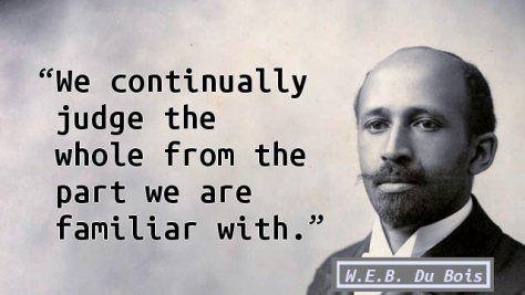 W.E.B. Du Bois - fallacy in Generalization