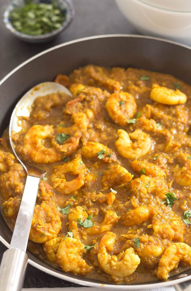Here's my easy and delicious mild south Indian prawn curry. Made using low fat cooking spray to replace any oil or ghee. This means it comes in at an extremely low 200 calories per portion. Ideal  if you are on a calorie controlled diet.