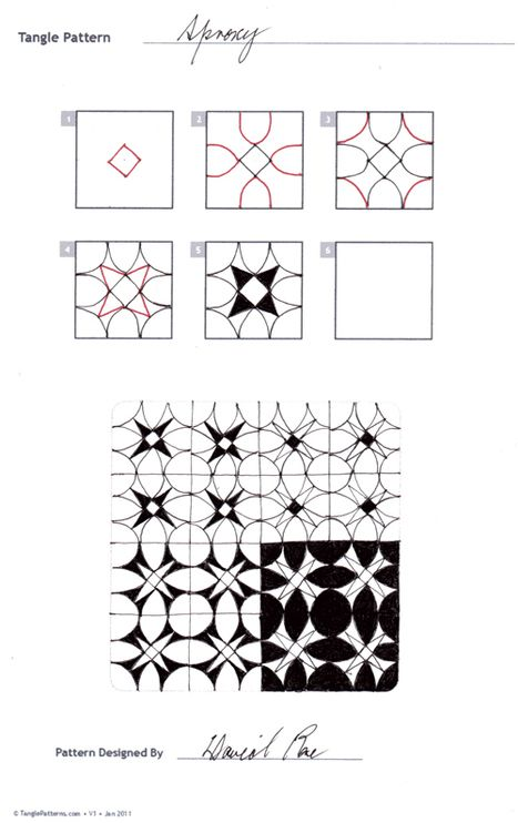 Repeat Pattern- Sproxy | Artistic Line Designs-all free | Scoop.it