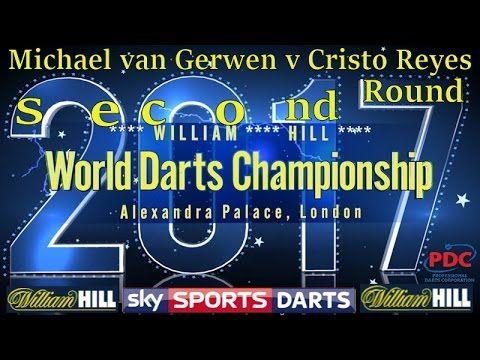 2017 William Hill World Darts Championship Michael van Gerwen v Cristo R...