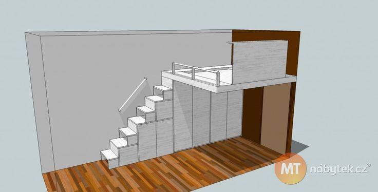 skrin pod schody do podkrovi - Hledat Googlem