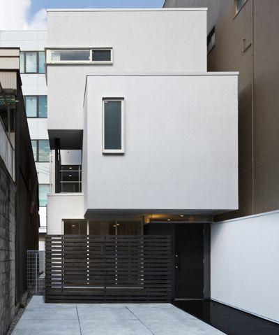 細長い敷地に建つ光あふれる二世帯住宅|狭小地|3階建て|注文住宅・自由設計・建築家|アーキッシュギャラリー(東京・名古屋・大阪)