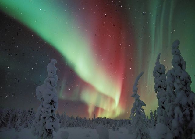 Magical Northern Lights by Visit Finland, via Flickr