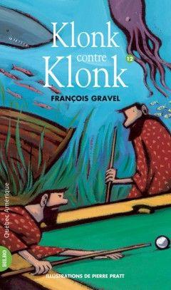 Klonk contre Klonk - 12, François Gravel |.  Du fond des mers où il se trouve en retraite fermée, Klonk lance un appel de détresse à Fred et Agathe, ses amis de toujours, afin de l'aider à protéger sa nouvelle invention. Il ne faudrait pas que des individus mal intentionnés s'en emparent. Le sort de l'humanité en dépend. En fait d'ennemi, Klonk en trouve un à sa mesure : lui-même ! Qui est le vrai Klonk ? Et surtout, que faire pour éviter que cet esprit génial ne coure à sa perte?