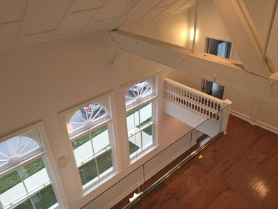 View from the third-level nook in The Gymnasium - Silver Spring condominium