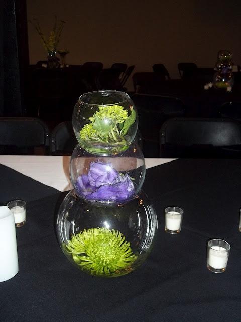 Best images about bubble bowl wedding arrangements on