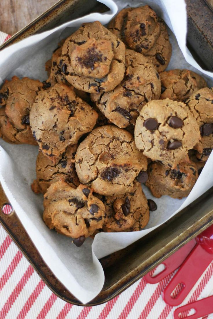 Chickpea Chocolate Chunk Cookies | VeguKate