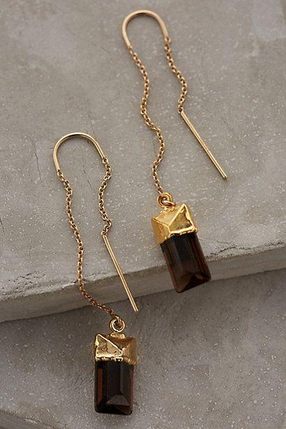Quartz Sweeper Earrings #anthrofave