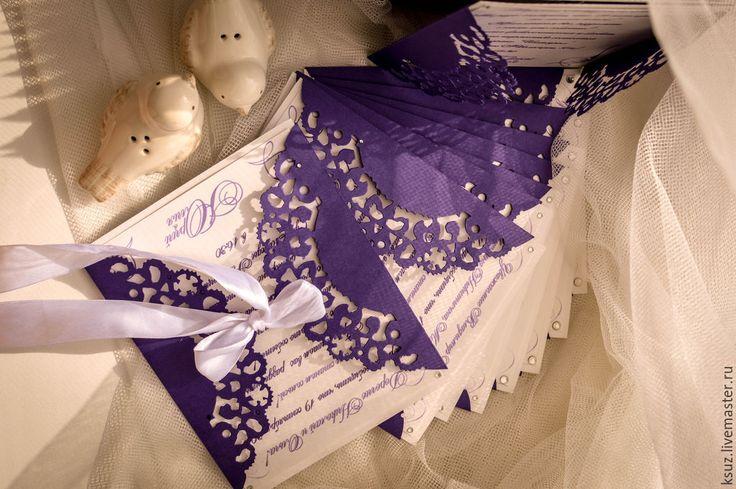 Купить свадебные пригласительные - разноцветный, свадьба, ксюша зайцева, пригласительные, ручная работа, на заказ