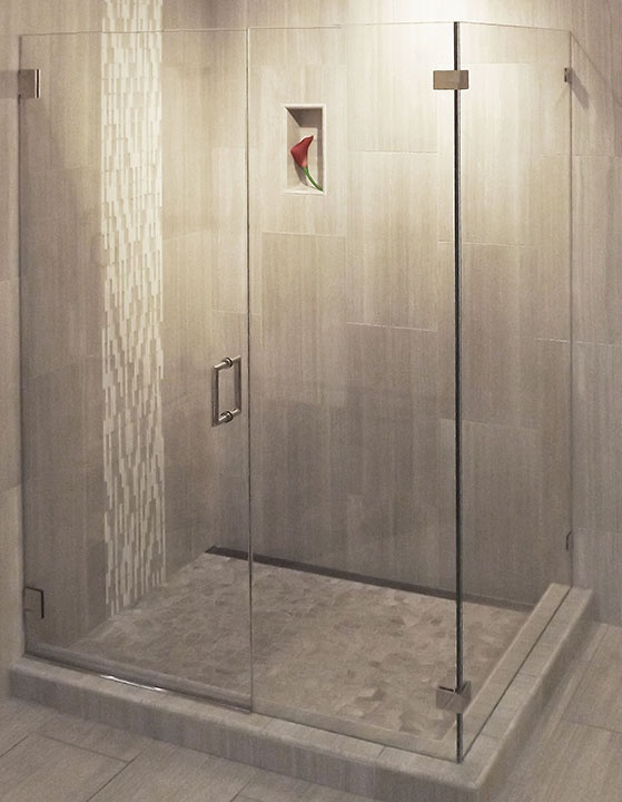 Shower Floor Tiles Which Why And How: This Modern Shower Is Elegant And Understated. The Tiles