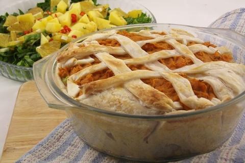 Vegan cheesey vege pie. So good!