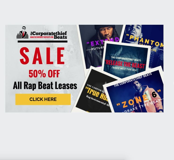 50% OFF Rap Beats Sale