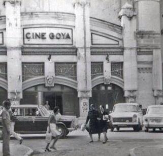 Cine Goya. Málaga, 197x