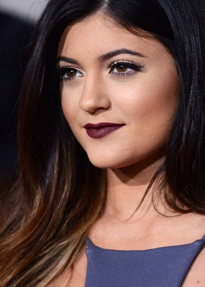 Get Kylie Jenner's lip color with RMS Lip2Cheek in Diabolique