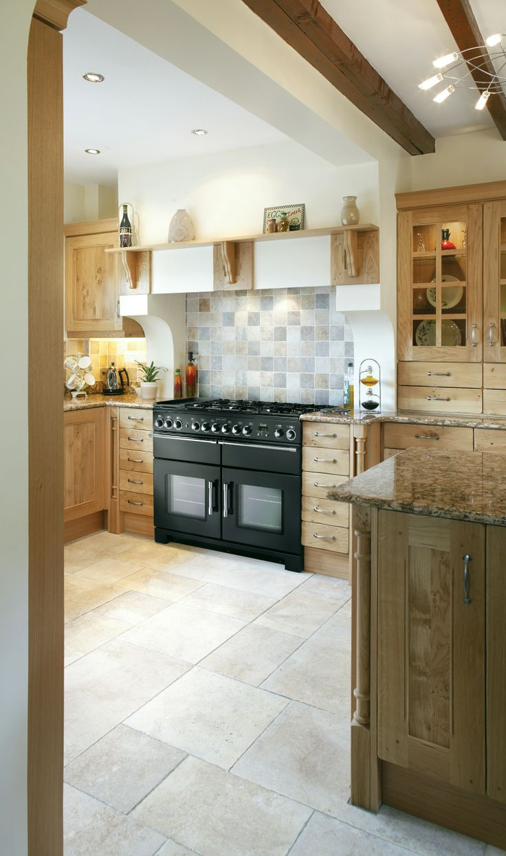 Perfect The AGA Rangemaster Elan Range Cooker In A Country Style Kitchen