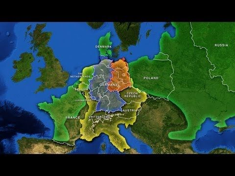 Best History Of Germany Images On Pinterest History Of - Youtube germany map