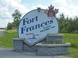 Fort Frances.  Tourism link: http://www.fort-frances.com/