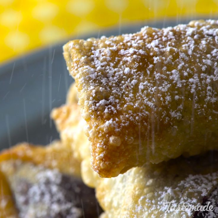 This deep-fried blueberry treat is as delicious and easy as pie.