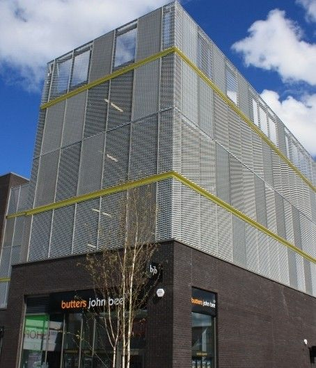 Car Park Cladding From Berry Systems