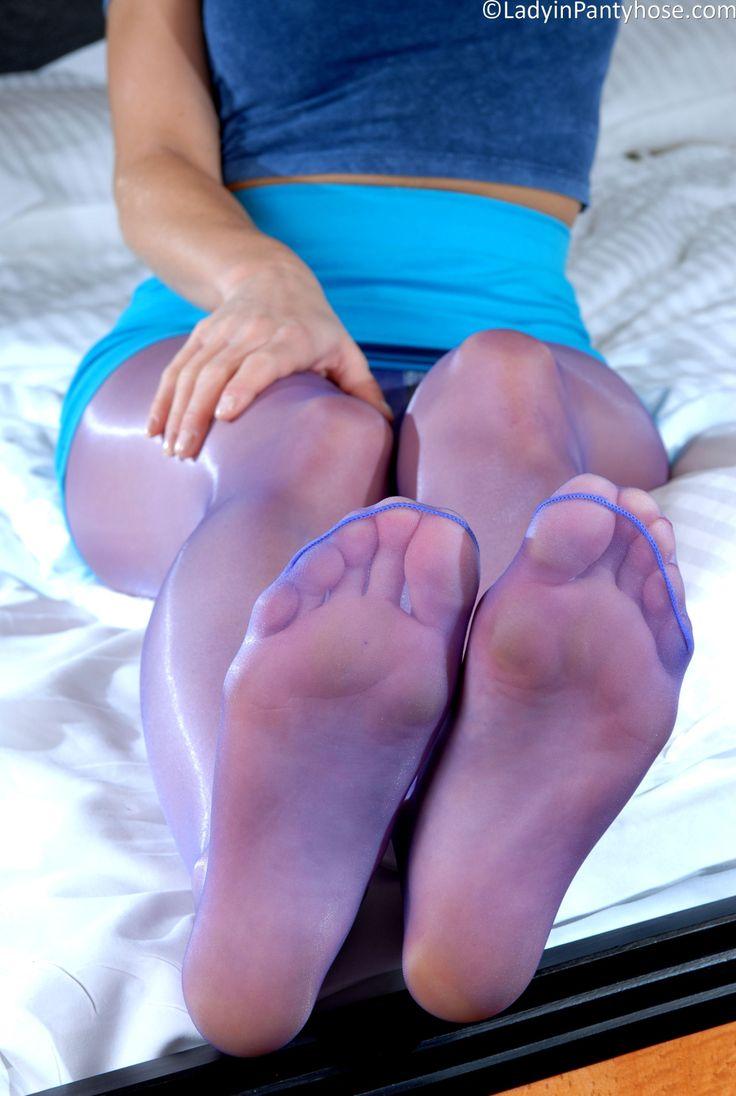 Legs in nylon