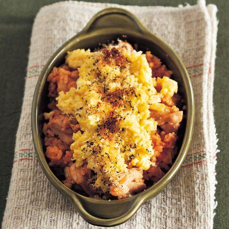 タルタルチキンドリア | つむぎや(金子健一・マツーラユタカ)さんのグラタン・ドリアの料理レシピ | プロの簡単料理レシピはレタスクラブニュース