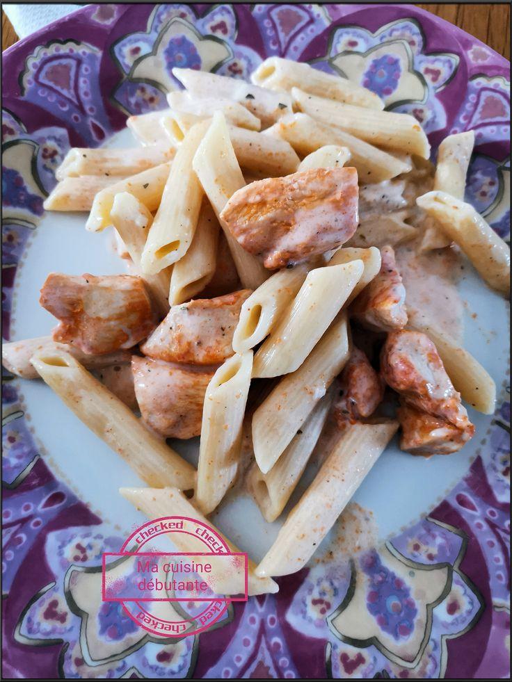 Penne Au Poulet Et Sa Sauce Philadelphia Au Cookeo In 2019