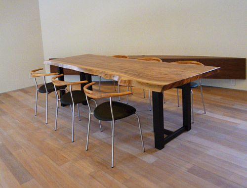 クス一枚板テーブル