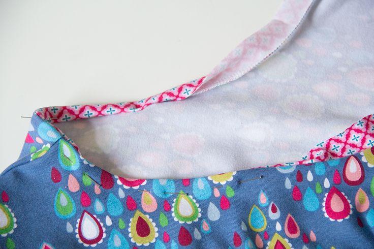 Verstürzter Halsausschnitt - Ausschnitt auf die feine Art