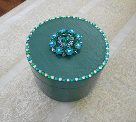 Jewelry Box Trinket Box Small Jewelry Box Gift Box Box