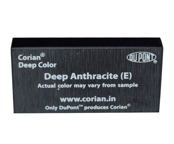 Deep Anthracite DuPont Corian Solid Material 12MM Sheet Price : ₹34,500 QUICK OVERVIEW Brand : DuPont™ Corian®  Color : Deep Anthracite Color Category :E  Material : Corian Size: 12 ft x 2.5 ft Buy now to click this link https://www.shopinterio.com/deep-anthracite-dupont-corian-solid-material-12mm-sheet.html 123ply is the biggest Dupont Corian dealers and distributors in Delhi-NCR M: 8800889227 Email :- info@shopinterio.com  https://www.123ply.com https://www.shopinterio.com