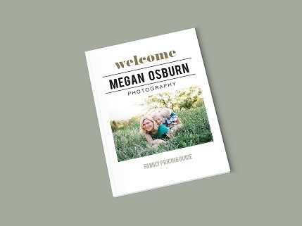 Megan Osburn Brand - Amy Hirschi Creative // Simple Pricing guide