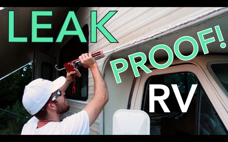 Rv Caulk In This Video We Show You How We Resealed Every Inch Of The Exterior On Our Class C