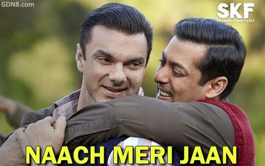 Naach Meri Jaan Lyrics from Tubelight The song is sung by Nakash Aziz, Kamaal Khan, Dev Negi and Tushar Joshi Starring: Salman Khan and Sohail Khan Music composed by Pritam chakraborty Lyrics written by Amitabh Bhattacharya ► http://www.gdn8.com/2017/05/naach-meri-jaan-lyrics-tubelight-salman.html