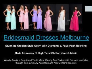 Since the Bridesmaids Dresses tend to favor a more style than any other dresses. Bridesmaids should choose a classic and elegant gown. Click this site http:/...