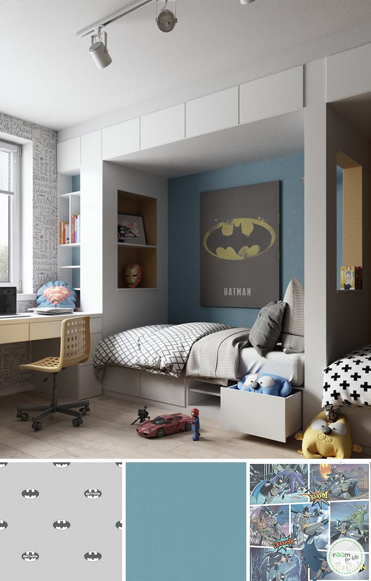 Superhelden Kinderzimmer Gestaltung En 2018 Kids Room Pinterest