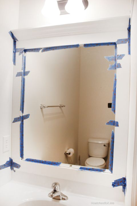 1000 Ideas About Frame Bathroom Mirrors On Pinterest Mirrors For Bathrooms Bathroom Mirrors