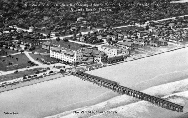 The Atlantic Beach Hotel In 30s Fl Photography Historical Vintage Pinterest And Hotels