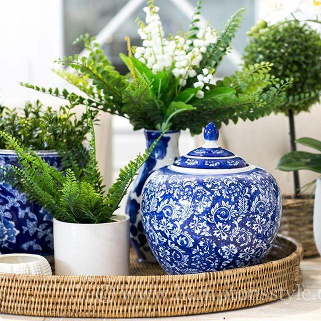 ~ In Abundance ~ blue & green is always seen in our store